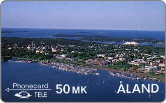 Phonecards - land Islands 1990