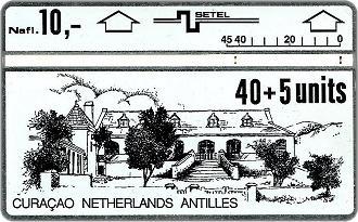 Phonecards - Curaao Netherlands Antilles 1990