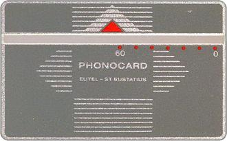 Phonecards - Sint Eustatius Netherlands Antilles 1987