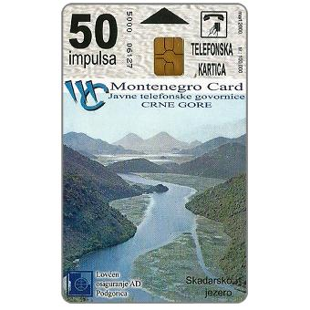 Phonecards - Montenegro 2000