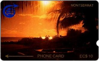Phonecards - Montserrat 1989