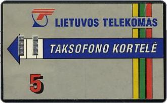 Phonecards - Lithuania 1993