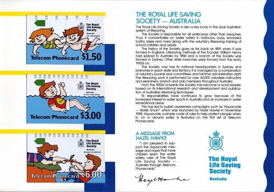 Phonecards - Australia 1989
