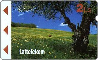 Phonecards - Latvia 1995