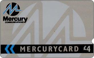 Phonecards - Mercurycards: the origins