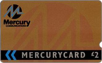 Phonecards - Mercurycards: le origini