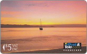 Phonecards - Figi 1992