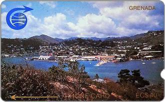 Phonecards - Grenada 1989