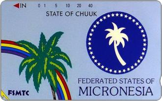 Phonecards - Micronesia 1990
