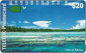 Phonecards - Tokelau 1997