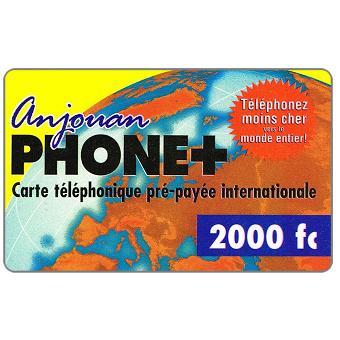 Anjouan, 2002