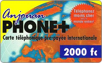 Phonecards - Anjouan 2002