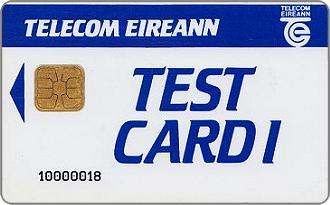 Telecom Eireann Test Card 1