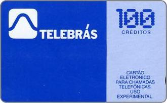 Phonecards - Brazil 1987